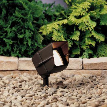 """Kichler Landscape 4.5"""" Accent in Textured Architectural Bronze"""