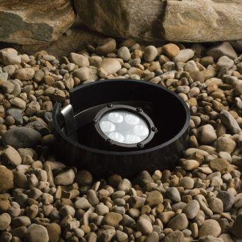 Kichler Landscape 6-Light 35 Deg LED Inground in Textured Black