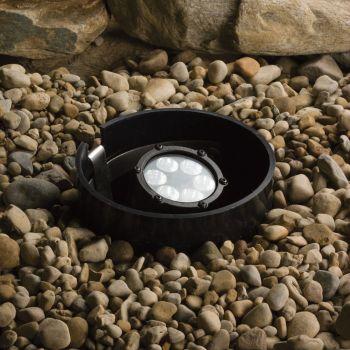 Kichler Landscape 6-Light 60 Deg LED Inground in Textured Black