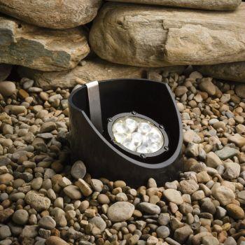 Kichler Landscape 9-Light 35 Deg LED Inground in Textured Black