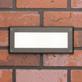 Kichler 2W 3000K LED Step Light in Textured Architectural Bronze