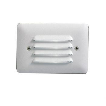 Kichler Landscape 2700K LED Louvered Mini Step in White