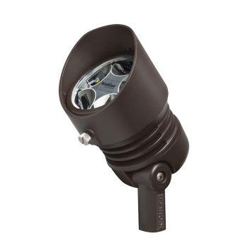Kichler L&scape 5-Light 3000K 10 Deg 13W LED Spot Light in Bronzed Brass