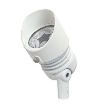 Kichler Landscape 5-Light 3000K 35 Deg 13W LED Flood in Textured White