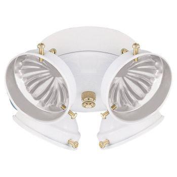 Sea Gull Ceiling Fan Light Kits 4-Light Ceiling Fan Light Kit in White
