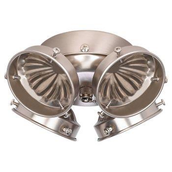 Sea Gull Ceiling Fan Light Kits 4-Light Fan Light Kit in Brushed Nickel