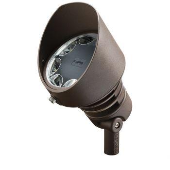 Kichler 8-Light LED 29W 10 Deg 4250K Accent in Architectural Bronze