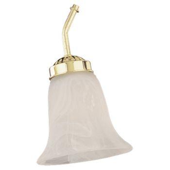 "Sea Gull Ceiling Fan Glass 5.5"" Fan Light Kit in Etched White Alabaster"