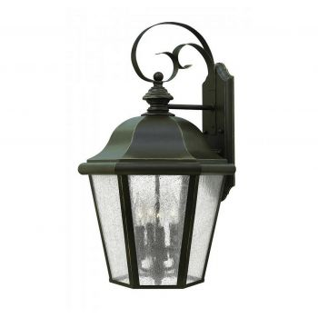 Hinkley Edgewater 4-Light Outdoor Large Wall Mount in Oil Rubbed Bronze