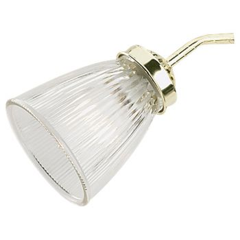 """Sea Gull Lighting Ceiling Fan Glass 4.25"""" Fan Light Kit Glass in Clear"""