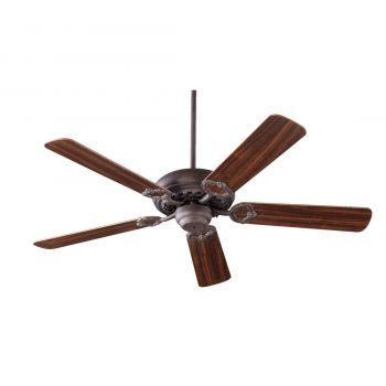 "Quorum Monticello 52"" 5-Blade Indoor Ceiling Fan in Toasted Sienna"
