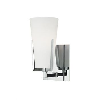 """Hudson Valley Upton 8.5"""" Wall Sconce in Polished Chrome"""