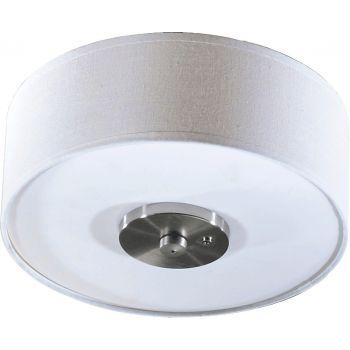"""Quorum Kit 11"""" 3-Light Ceiling Fan Light Kit in Satin Nickel"""