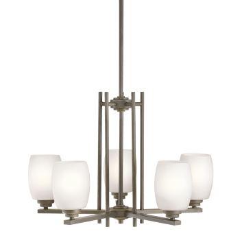 Kichler Eileen 5-Light LED Chandelier in Olde Bronze