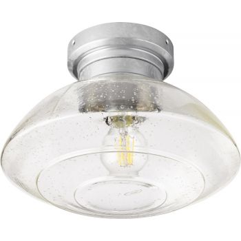 """Quorum International Windmill 11"""" Indoor/Outdoor Ceiling Fan in Galvanized"""