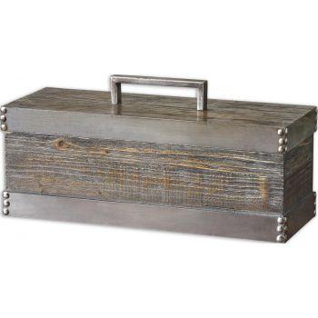 Uttermost Lican Natural Wood Decorative Box