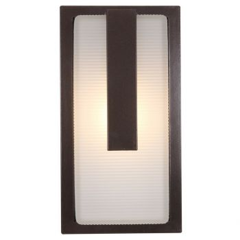 """Access Lighting Neptune 13"""" LED Outdoor Wall Sconce in Bronze"""