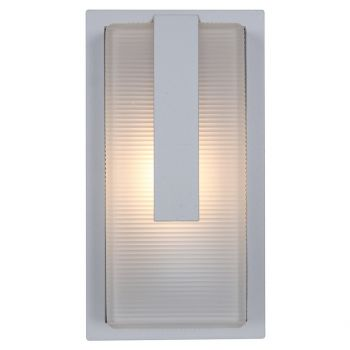 Access Lighting Neptune Outdoor Wet Rated Bulkhead in Satin