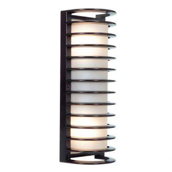 Access Lighting Bermuda Outdoor 2-Light Wet Rated Bulkhead in Bronze