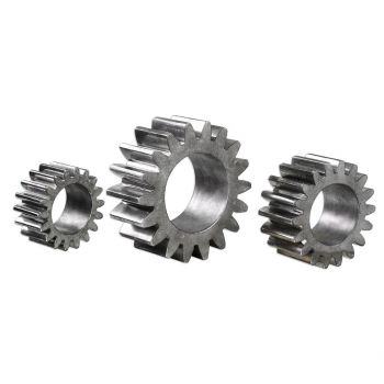 Uttermost Gears Sculpture in Tarnished Silver (Set of 3)