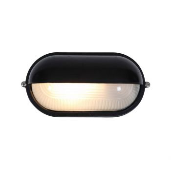 """Access Lighting Nauticus LED Outdoor 8.25"""" Wall Sconce in Black"""