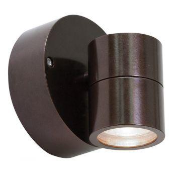 Access Lighting KO Outdoor Clear Spot-Light in Bronze