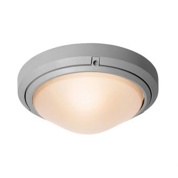 """Access Lighting Oceanus 12"""" Outdoor Frosted Glass LED Sconce in Satin"""