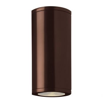 Access Trident Outdoor 2-Light Wet Rated Wallwasher in Bronze