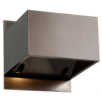 """Access Square 3"""" Outdoor Wall Light in Bronze"""