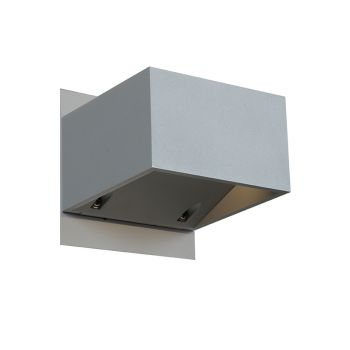 "Access Square 3"" Outdoor Wall Light in Satin"