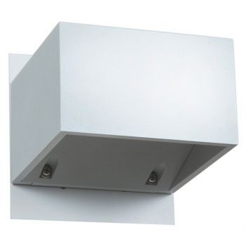 """Access Square 3"""" Outdoor Wall Light in White"""