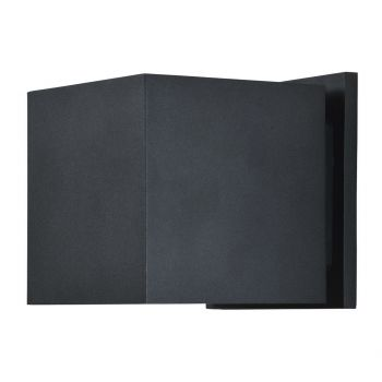 """Access Square 2-Light 5"""" Outdoor Wall Light in Black"""