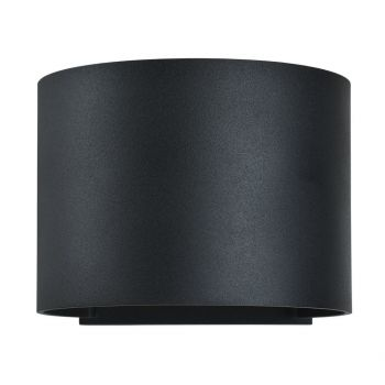 """Access Curve 2-Light 5"""" Outdoor Wall Light in Black"""