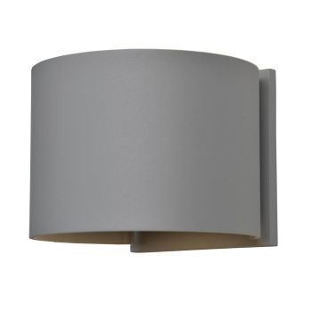 "Access Curve 2-Light 5"" Outdoor Wall Light in Satin"