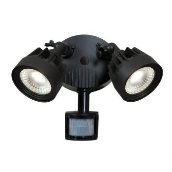 "Access Guardian 2-Light 10"" Outdoor Wall Light in Black"