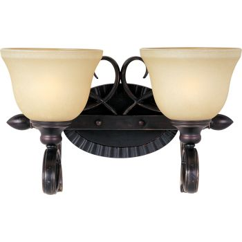 Maxim Lighting Infinity 2-Light Bath Vanity in Bronze