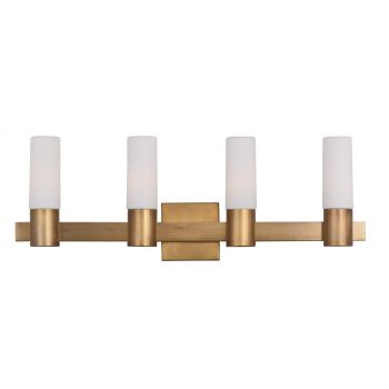Maxim Lighting Contessa 4-Lt Bath Vanity,Natural Aged Brass