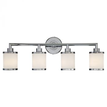 Millennium Lighting 200 Series 4-Light Bath Vanity in Chrome