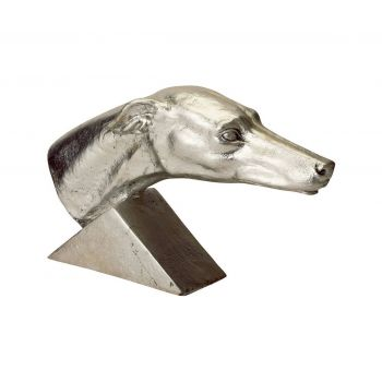 ELK Home Gilded Gilded Age Greyhound in Silver