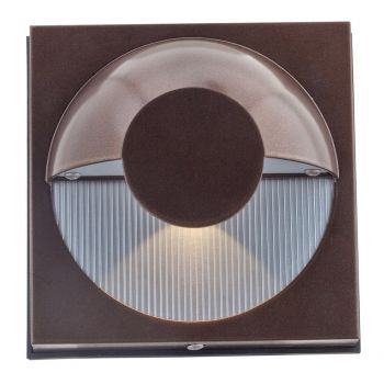 Access Lighting ZYZX Outdoor Wet Rated LED Wallwasher in Bronze