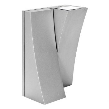 Access Lighting Archer Outdoor 2-Light LED Wallwasher in Satin