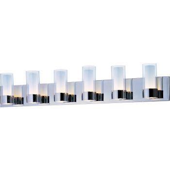 Maxim Lighting Silo 6-Light Bath Vanity in Polished Chrome