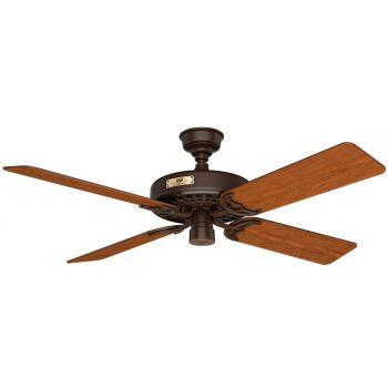 """Hunter Original 52"""" Indoor/Outdoor Ceiling Fan in Chestnut Brown"""