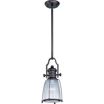 Maxim Lighting Hi-Bay 1-Light Pendant in Bronze