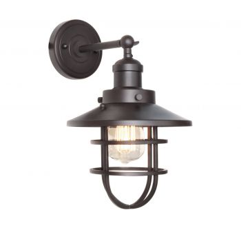 "Maxim Lighting Mini Hi Bay 8"" Wall Sconce in Bronze"