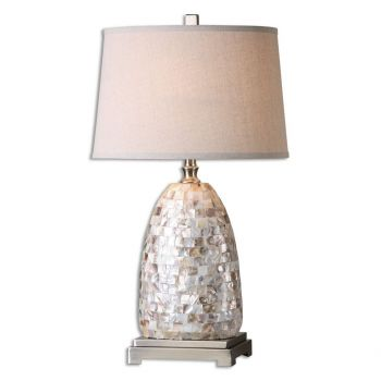 "Uttermost Capurso 30"" Table Lamp in Capiz Shell"