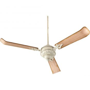 """Quorum Brewster 60"""" 3-Blade Ceiling Fan in Persian White"""