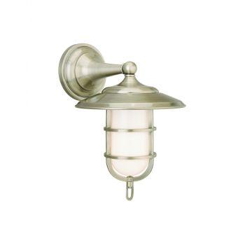 Hudson Valley Rockford Bath Light in Antique Nickel