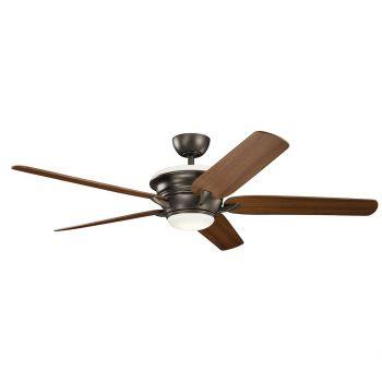 """Kichler Pino 60"""" Ceiling Fan in Olde Bronze"""