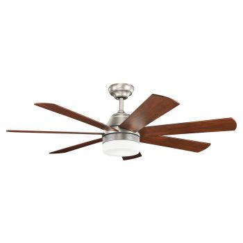 "Kichler Ellys 56"" Ceiling Fan in Brushed Nickel"